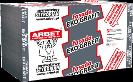 Arbet Styropian FASADA EKO GRAFIT 0,033 26m