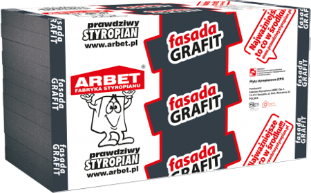Arbet Styropian FASADA GRAFIT 0,031 22cm