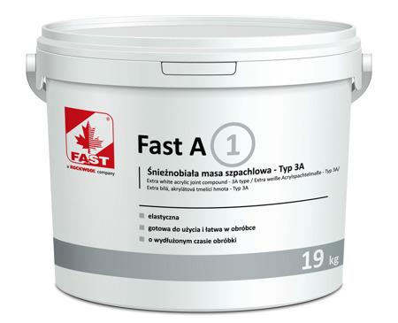 FAST A1 Ekstra biała elastyczna gładź szpachlowa
