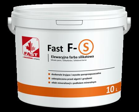 FAST F-S farba silikatowa do elewacji 10L