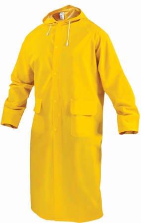 Mocny płaszcz przeciwdeszczowy  BREMEN żółty