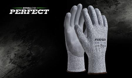 Rękawice ANTYPRZECIĘCIOWE poliuretan Poli Cut 5