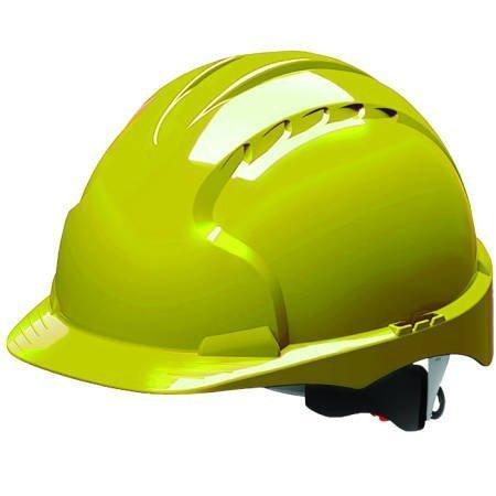 Stalco Hełm przemysłowy EVO3 żółty