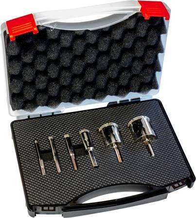 Stalco Otwornice diamentowe zestaw 6 szt  6-35 mm